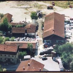 Luftaufnahme alter Standort 2002