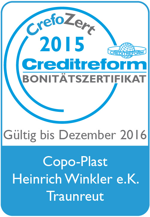 CrefoZert2015-2016-Copo-Plast Heinrich Winkler eK