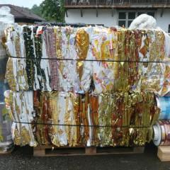 PP foils printed rolls-bale